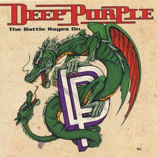 <i>The Battle Rages On...</i> 1993 studio album by Deep Purple
