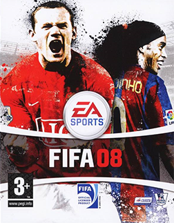 Picture of a game: Fifa 08