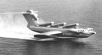 Pod-Racers for Cox Engines Lun_Ekranoplan