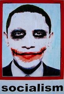Barack Obama Joker Poster