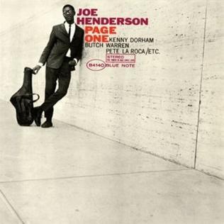 <i>Page One</i> (Joe Henderson album) 1963 studio album by Joe Henderson
