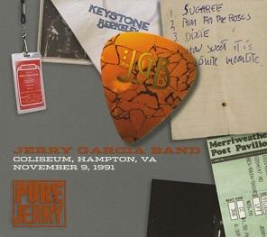 <i>Pure Jerry: Coliseum, Hampton, VA, November 9, 1991</i> 2006 live album by Jerry Garcia Band