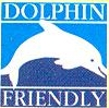Sealord dolphin friendly logo.