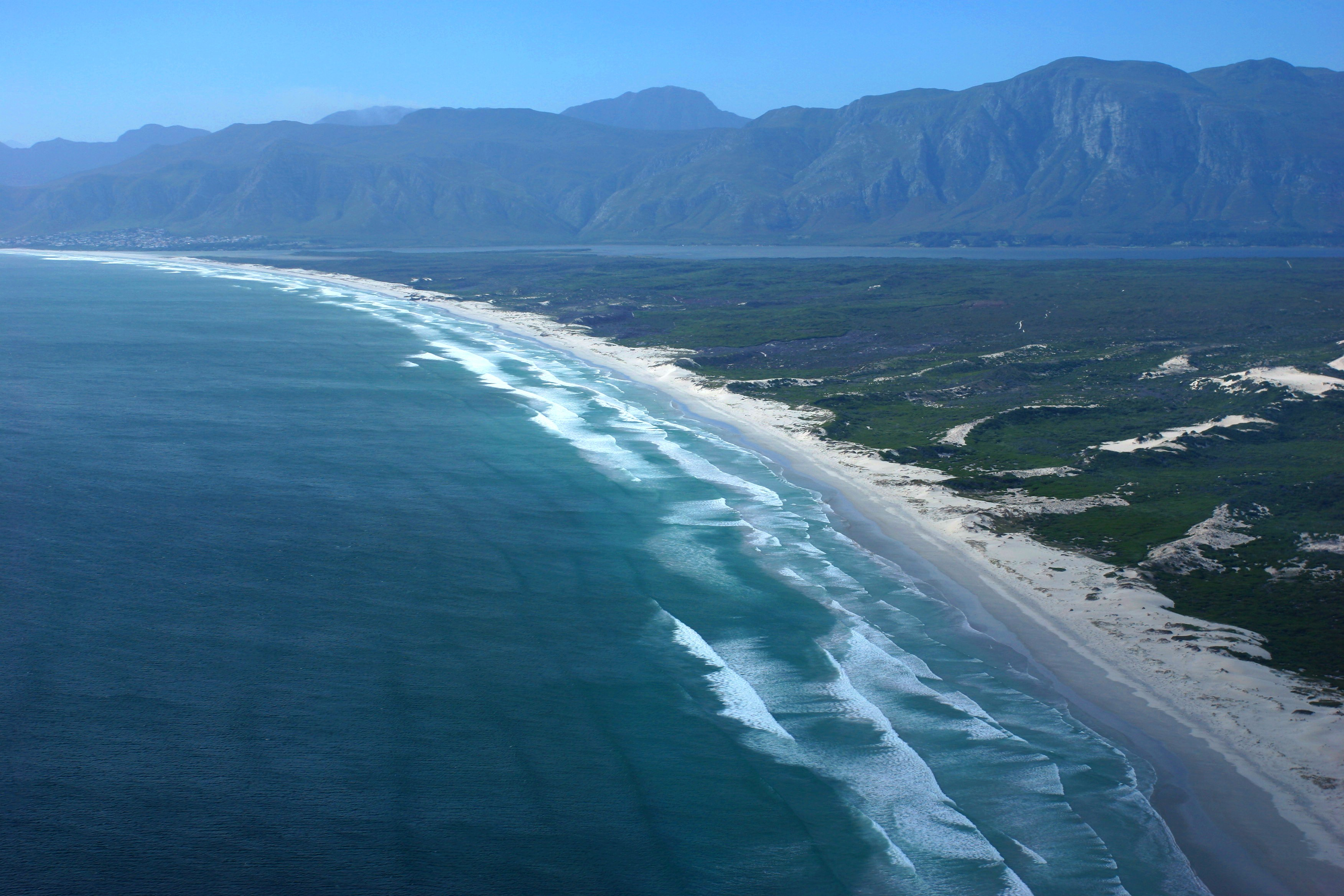 file shoreline near hermanus western cape province aerial view 5