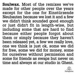 <i>Most of the Remixes</i> 2007 remix album by Soulwax