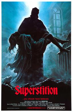 Superstition (1982 film) movie poster