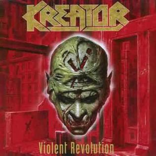 <i>Violent Revolution</i> 2001 studio album by Kreator