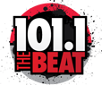 WUBT 101.1TheBeat logo.png