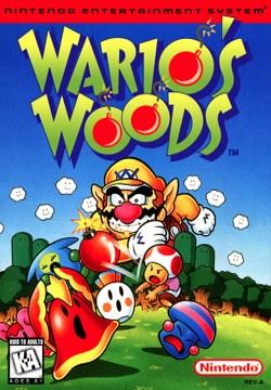 Famicom - Wario no Mori Box Art