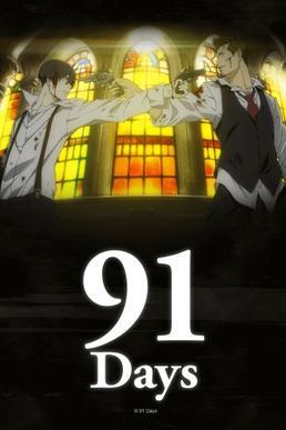 91 Days, anime, animació