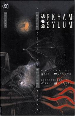 Picture of a book: Arkham Asylum: A Serious House On Serious Earth