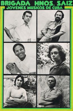 Left row, top to bottom: Armando Rodriguez Ruidiaz, Carlos Malcolm, Juan Pinera. Right row, top to bottom: Flores Chaviano, Magali Ruiz, Danilo Aviles. Brig. Hnos. Saiz.jpg
