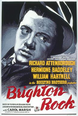 Brighton Rock (1947) movie poster