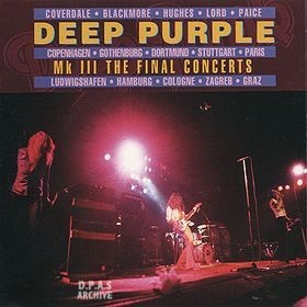<i>Mk III: The Final Concerts</i> 1996 live album by Deep Purple
