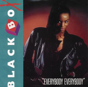 Black Box — Everybody Everybody (studio acapella)