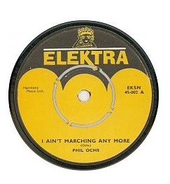 I Aint Marching Any More (song)