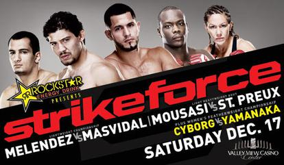 Strikeforce Melendez vs. Masvidal