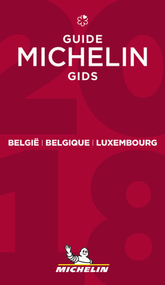 Cover of a 2018 Michelin Guide