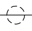 Electronic symbol for a shielded wire