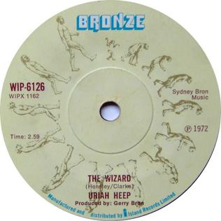 The Wizard (Uriah Heep song) 1972 single by Uriah Heep