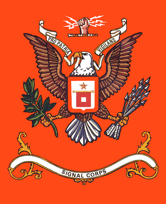 Signal corps united states army wikipedia the signal corps regimental color publicscrutiny Images
