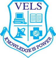 Vels University logo.png