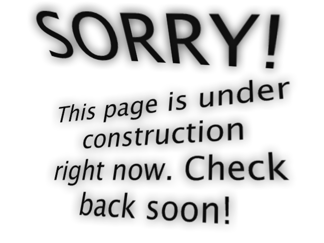 how to create a site under construction page