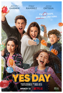 Yes Day 2021 USA Miguel Arteta Jennifer Garner Edgar Ramírez Jenna Ortega  Comedy, Family