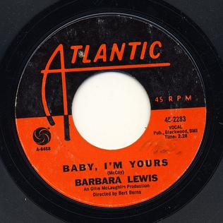 Baby I'm Yours (Barbara Lewis song) - Wikipedia