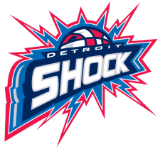 Detroit Shock Womens basketball team
