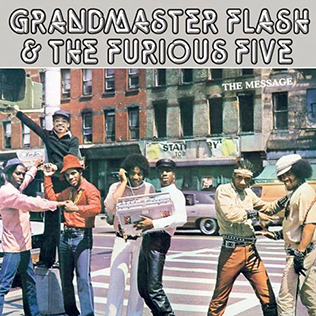 Grandmaster Flash & the Furious Five-The Message (album cover).jpg