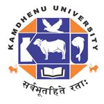 Kamdhenu University Recruitment 2021