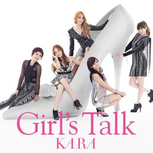 <i>Girls Talk</i> 2010 studio album by Kara