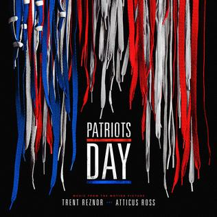 <i>Patriots Day</i> (soundtrack) 2017 film score by Trent Reznor and Atticus Ross