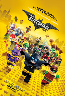 Lego Batman - Movie Poster