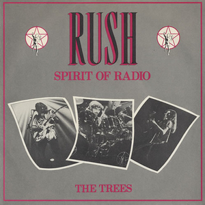Titelbild des Gesangs The Spirit of Radio von Rush