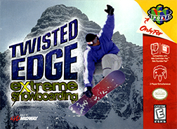 <i>Twisted Edge Extreme Snowboarding</i> video game