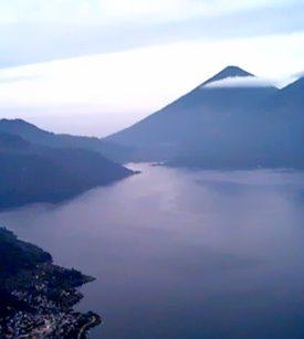 Volcán Atitlán mountain