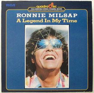 <i>A Legend in My Time</i> 1975 studio album by Ronnie Milsap