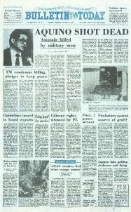 Broadsheet newspaper article