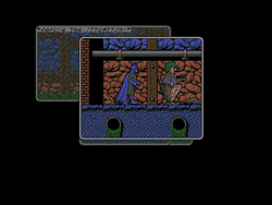 Screen from the Amiga version of Batman: The Caped Crusader