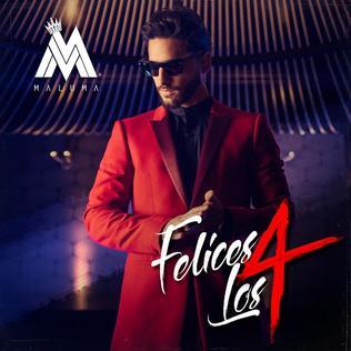 Felices los 4 2017 song by Maluma