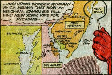 Gotham City Wikipedia - Dc universe us map