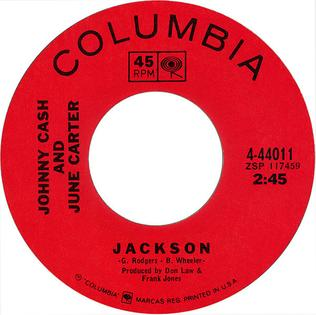 Jackson (song) Song recorded by Wheeler