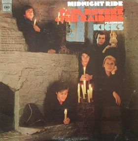 <i>Midnight Ride</i> (album) 1966 studio album by Paul Revere & the Raiders