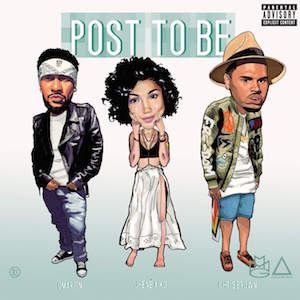 Omarion featuring Chris Brown and Jhené Aiko — Post to Be (studio acapella)