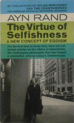 Picture of a book: The Virtue Of Selfishness