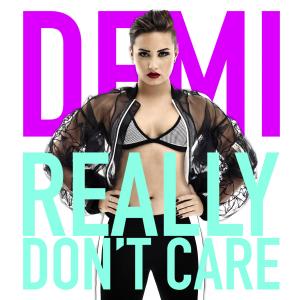 Demi Lovato Encyclopedia >> File:Demi Lovato Really Don't Care (Official Single Cover).png - Wikipedia