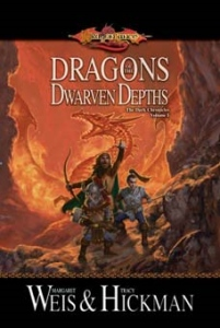 Dragons of the Dwarven Depths novel cover.jpg