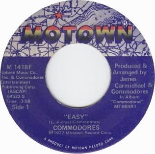 Easy (Commodores song) - Wikipedia